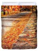 Autumn Avenue Duvet Cover