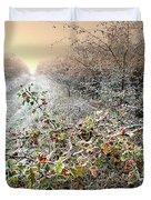 Autumn Frosts Duvet Cover