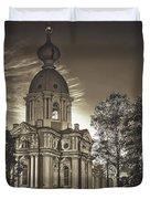 Beautiful Smolny Monastery Duvet Cover
