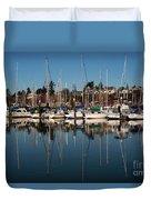 Bellingham Bay Marina  Duvet Cover