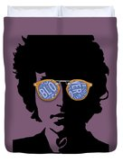 Blowin In The Wind Bob Dylan Duvet Cover