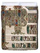 Book Of Lindisfarne Duvet Cover