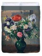 Bouquet Of Flowers, 1898 Duvet Cover