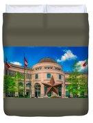 Bullock Texas State History Museum Duvet Cover