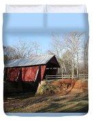 Campbell's Covered Bridge Duvet Cover