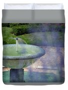 Castel Fountain Duvet Cover