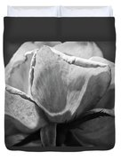 Close-up Of A Rose, Los Angeles County Duvet Cover