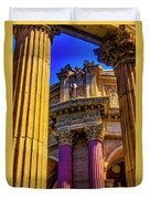 Columns Of The Palace Of Fine Arts Duvet Cover