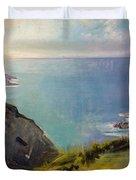 Cornish Headlands  Duvet Cover