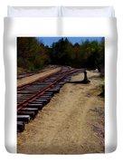 Ellsworth Tracks  Duvet Cover