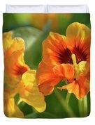 Fall Flowers Duvet Cover