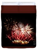 Firework Display Duvet Cover