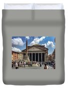 Fontana Del Pantheon Duvet Cover