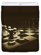 Game Of Kings Duvet Cover
