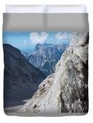 Grey Mountains Duvet Cover