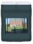 Guard Duty Duvet Cover