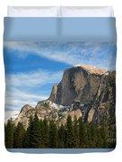 Half Dome, Yosemite National Park Duvet Cover