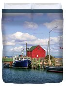 Hall's Harbour 01 Duvet Cover