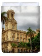 Havana's Palacio Del Centro Asturiano Duvet Cover
