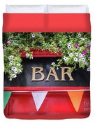 Irish Bar In Dublin Duvet Cover