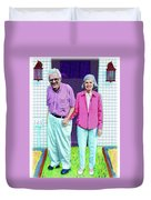 Jane And Sherwood Duvet Cover