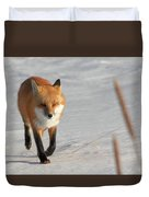 Just Passing Through Duvet Cover by Susan Rissi Tregoning