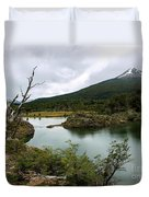 Laguna Verde, Tierra Del Fuego National Park, Ushuaia, Argentina Duvet Cover