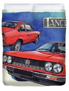 Lancia Beta 1300 Duvet Cover