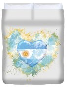 Love Argentina Duvet Cover