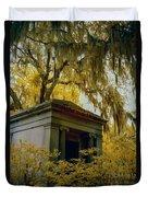 Mausoleum In Georgia Duvet Cover
