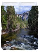 Merced River, Yosemite National Park Duvet Cover