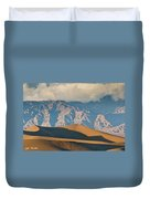 Mesquite Flat Sand Dunes At Sunset Duvet Cover