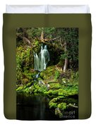 Mossy Falls Duvet Cover