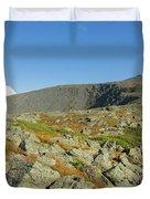 Mount Washington - New Hampshire, White Mountains Duvet Cover by Erin Paul Donovan