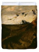 Mountains Near Innsbruck  Duvet Cover