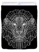 Night Lion Duvet Cover