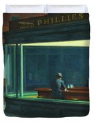Nighthawks, 1942  Duvet Cover