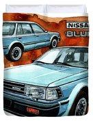 Nissan Bluebird Sw Duvet Cover