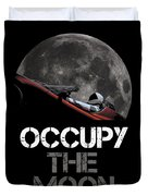 Occupy The Moon Duvet Cover