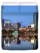 Orlando Skyline Duvet Cover