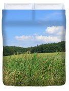 Photography Landscape With Fields In Germany Duvet Cover