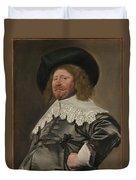 Portrait Of A Man  Possibly Nicolaes Pietersz Duyst Van Voorhout  Duvet Cover