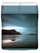 Rhossili Bay And Worms Head Duvet Cover