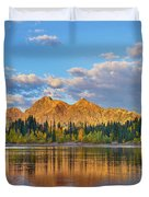 Ruby Range, Lost Lake Slough, Colorado Duvet Cover