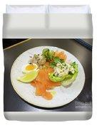 Seafood Platter Duvet Cover