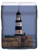 Seaham Lighthouse Duvet Cover