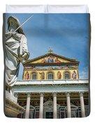 St. Paul Outside The Walls Duvet Cover