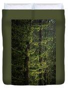 Stunning Fine Art Landscape Image Of Winter Forest Landscape In  Duvet Cover