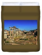 Temple Of Saturn Duvet Cover