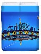 The Boardwalk Duvet Cover by Paul Wear